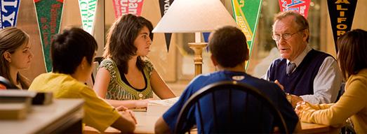 留学フェア、ボーディングスクールの利点がよくわかります。