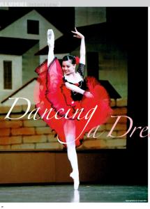 欧州でバレエのプリマをやりながら、ハーバードエクステンションプログラム合格!